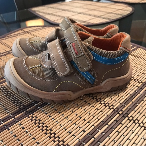 Beeko Michel Boys Brown Leather Shoes